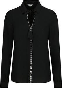 Czarna bluzka Liu-Jo z długim rękawem
