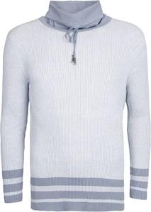 Sweter Guess by Marciano z dzianiny w stylu casual
