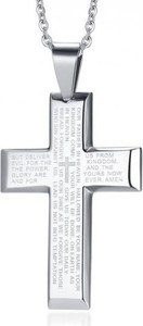 Męska zawieszka krzyż Estilo Sabroso ES05653