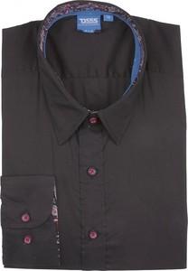 Koszula D555 z długim rękawem z bawełny