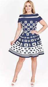 Sukienka N/A mini z krótkim rękawem