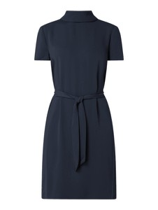 Granatowa sukienka Esprit z krótkim rękawem w stylu casual mini
