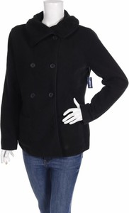 Czarny płaszcz Old Navy z plaru