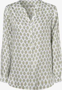 Bluzka comma, z długim rękawem z dekoltem w kształcie litery v