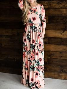 Sukienka Kendallme z dekoltem w kształcie litery v w stylu boho maxi