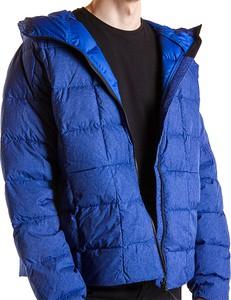 Niebieska kurtka Adidas z tkaniny