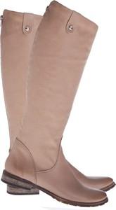Kozaki Lafemmeshoes z płaską podeszwą przed kolano