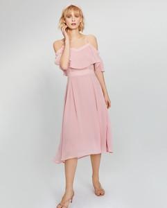 c0414d86d6 zara sukienka plisowana - stylowo i modnie z Allani