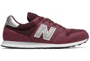 Fioletowe buty New Balance sznurowane w sportowym stylu