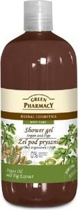 Green Pharmacy, żel pod prysznic, olejek arganowy & figi