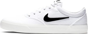 Buty do skateboardingu Nike SB Charge Canvas - Biel