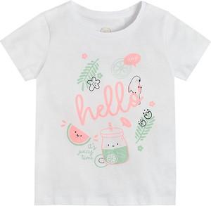 Bluzka dziecięca Cool Club dla dziewczynek z krótkim rękawem z bawełny