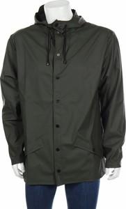 Zielona kurtka Rains w stylu casual