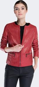 1df1092651da7 Czerwone kurtki damskie krótkie Wittchen, kolekcja wiosna 2019