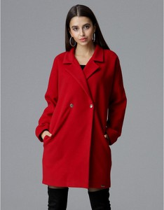 Płaszcz Figl w stylu casual z tkaniny