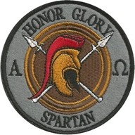 Plakietka Haasta Haft Honor Glory Spartan (PHHGS)