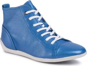 Buty sportowe Gino Rossi z płaską podeszwą