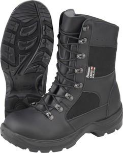 Czarne buty trekkingowe Protektor sznurowane