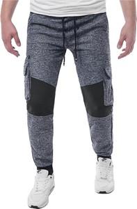 Spodnie sportowe Risardi z dresówki w street stylu