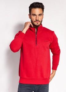 Czerwona bluza Lee Cooper z bawełny