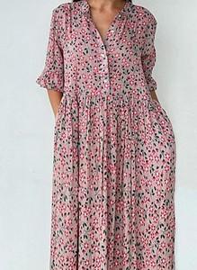 Sukienka Cikelly w stylu boho oversize maxi