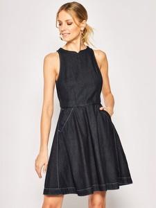 Sukienka G-Star Raw mini rozkloszowana