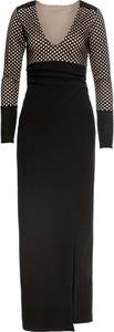 Sukienka bonprix BODYFLIRT boutique z długim rękawem maxi
