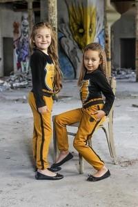 Żółty komplet dziecięcy Kids By Voga