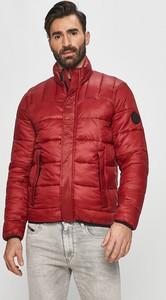 Czerwona kurtka Pepe Jeans w stylu casual