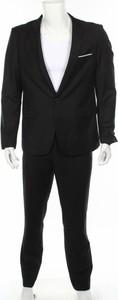 Czarny garnitur Allthemen
