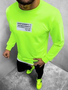 Zielona bluza ozonee.pl z bawełny