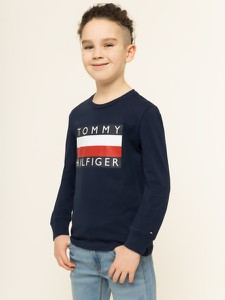 Granatowa bluzka dziecięca Tommy Hilfiger