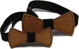 Brązowa mucha The Bow Bow Ties
