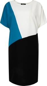 Sukienka DKNY w stylu casual z okrągłym dekoltem