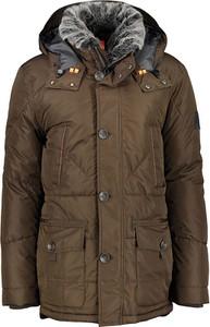 Brązowa kurtka Lerros w stylu casual