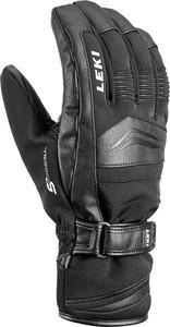 Czarne rękawiczki Leki