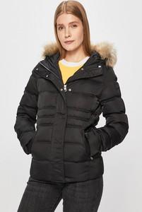 Czarna kurtka Calvin Klein z tkaniny krótka