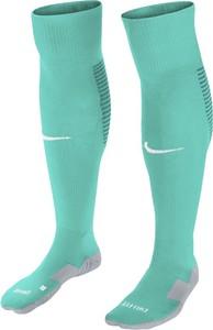 Turkusowe skarpety Nike z bawełny