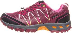 Różowe buty trekkingowe CMP sznurowane
