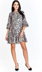 Sukienka N/A z długim rękawem w stylu casual