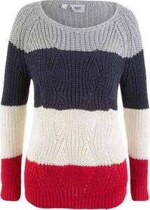 Beżowy sweter bonprix bpc bonprix collection