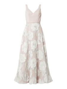 Sukienka Unique z dekoltem w kształcie litery v
