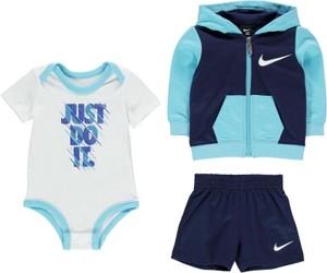 Błękitny komplet dziecięcy Nike