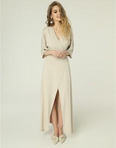 Sukienka Madnezz maxi z długim rękawem