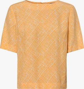 Pomarańczowa bluzka someday. z okrągłym dekoltem w stylu casual