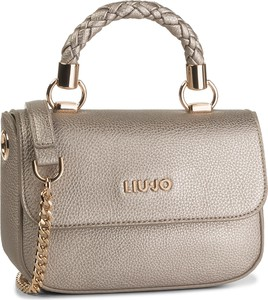 Złota torebka Liu-Jo średnia na ramię