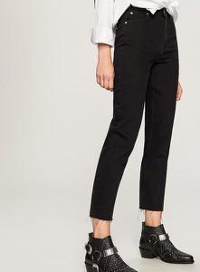 Jeansy Reserved w street stylu z jeansu