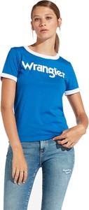 T-shirt Wrangler z bawełny