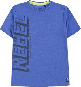Niebieska koszulka dziecięca Tom Tailor dla chłopców