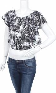 Bluzka Tally Weijl z krótkim rękawem w stylu boho z okrągłym dekoltem